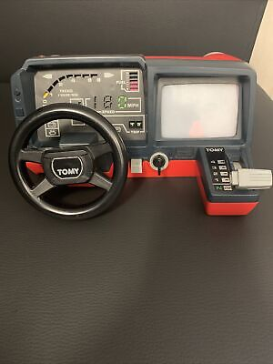 Tomy Turnin' Turbo Dashboard Classic Rare 1980 Toys Collector Battery Operated • 20£