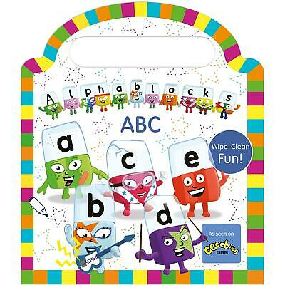 Alphablocks Wipe-Clean: ABC Cbeebies, Fun Phonics & Writing - For Ages 0-3 Years • 7.95£