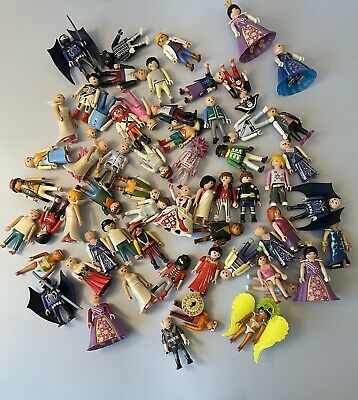 Playmobil Bundle Of USED 60 Figures PLEASE READ & SEE PICS • 20£