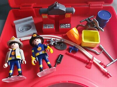 Playmobil Firefighter City Action 5973 With Carry Case  • 4.99£