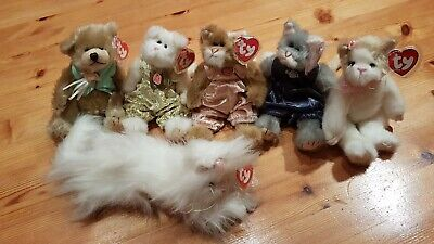 Ty The Attic Treasure Collection: Whiskers, Katrina, Pouncer, Genevieve & Others • 35£
