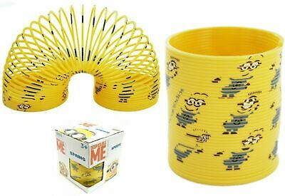 Despicable Me Minions Print Slinky Spring Toy A Great Gift & Party Fun Kids Toy • 5.99£