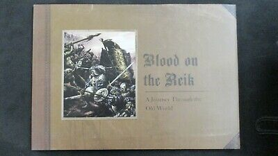Blood On The Reik - A Journey Through The Old World. Warhammer GW Art Book (M17) • 80£