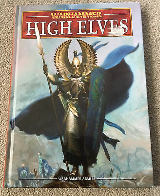Warhammer Fantasy: High Elves 8th Edition Army Book - Excellent Condition • 20£