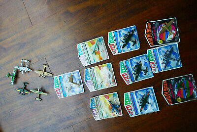 10 Mandarin Mini Planes Blister Pack Boxed  Die Cast Metal Areoplanes + 5 No Box • 19.99£