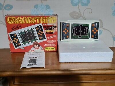 Retro Grandstand Match Of The Day Football Game Handheld Kevin Keegan BOXED • 24.99£