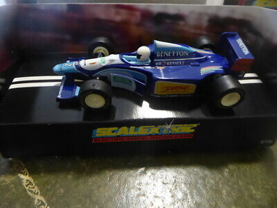Scalextric Slot Car - Ford Benetton • 17.50£