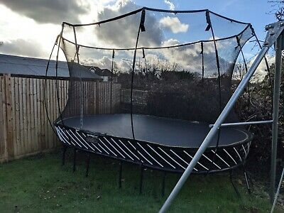 Large Oval Springfree Trampoline (13ft X 8ft) - Great Condition • 725£