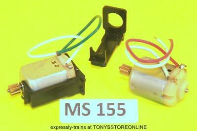 Ms155 Scalextric/other Spare 2x 3-pole N1 Mabuchi Motor 9 Tooth Gear Cradle New. • 8.99£