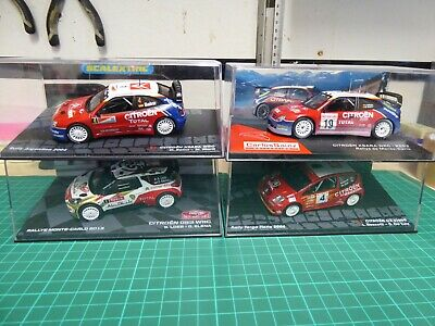 Altaya 1/43 Scale Citroen Rally Car Collection Never Displayed • 30£