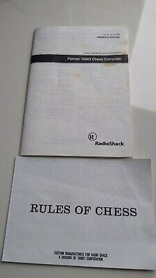 RadioShack Partner 1680  Chess Computer Endorsed By Garry Kasparov • 35£