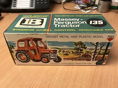 Vintage Britains Toy Farm Tractor Massey 135 • 95£