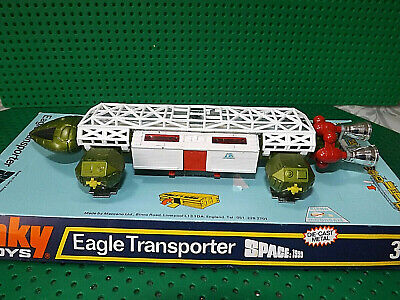 Vintage Dinky Toys 359 Space 1999 Eagle Transporter Gerry Anderson Boxed • 165£