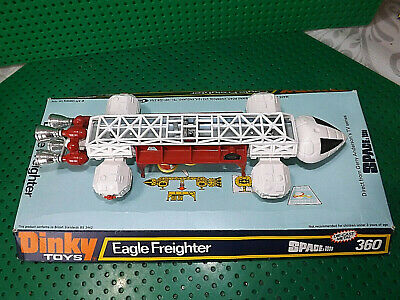 Vintage Dinky Toys 360 Space 1999 Eagle Freighter  Gerry Anderson Boxed • 150£