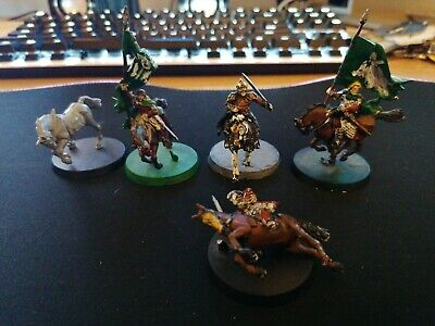 Games Workshop LOTR Mounted Rohan Heroes, Theoden, Gamling, Eomer, Banner And... • 3.70£