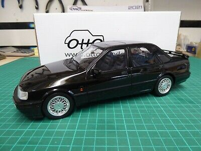 Otto 1/18 Scale Ford Sierra Rs Cosworth 4x4 Black New • 95£