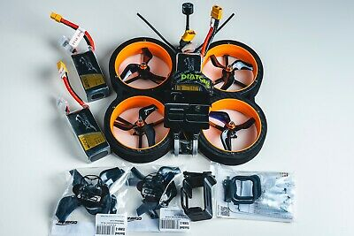 Diatone Taycan FPV Cinewhoop, R-XSR Receiver, 3x Tattu Batteries And More • 200£