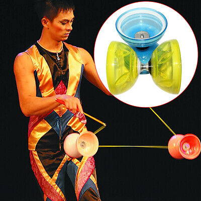 Light Glowing Ball Bearing Pro Diabolo Set + Diablo Handsticks, String & Bag • 18.73£