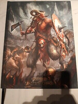 Warhammer Age Of Sigmar, Beasts Of Chaos Battletome, Limited Edition 358/400 • 10£