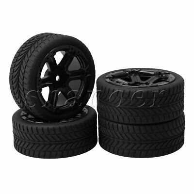 4PCS RC1: 10 Flat Sports Car With Figured Tires And 6-Spoke Wheels • 12.48£