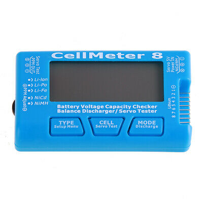 Meter Tool Battery Voltage Tester Digital Cell Capacity Checking With Backlight • 7.96£