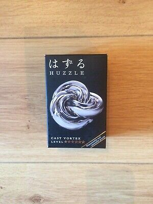 Hanayama Huzzle Puzzle - Level ****** Cast Vortex-BRAND NEW WITH FREE DELIVERY • 9.99£