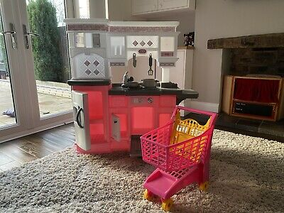 Little Tikes Play Kitchen And Shopping Trolley • 25£