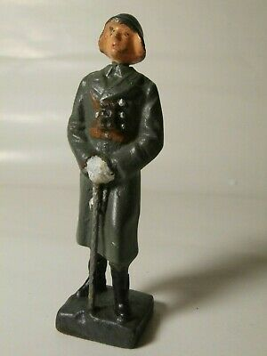 Lineol German Ww2 Manufactured Toy Soldier/officer Of Swiss Officer • 20£