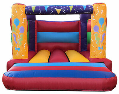 BOUNCY CASTLE PARTY STYLE BRAND NEW 8ftx11ft     • 479£