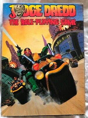 Judge Dredd The Role Playing Game Boxed Games Workshop 1985 • 19.99£