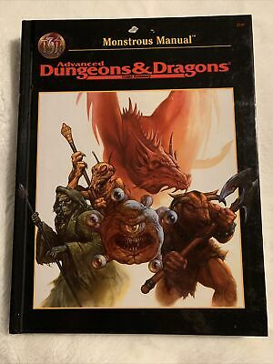 Advances Dungeons & Dragons Game Accessory Monstrous Manual • 27£