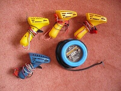 Scalextric Classic Hand Controllers And Transformer - Used.  • 6£