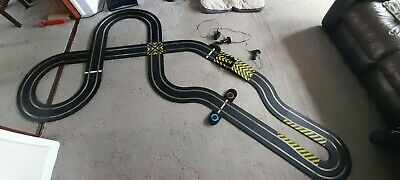Scalextric Sport Custom Large Analogue Layout Set Crossover Hairpin Lapcounter • 45£