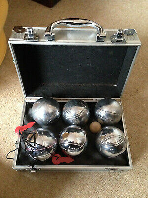 Set Of  French Boules - Metal Case  • 29.99£