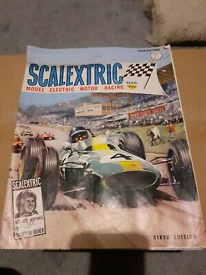 Vintage Scalextric Catalogue Sixth Edition- 1965.. • 4.99£