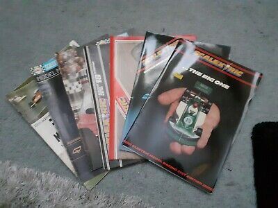 Scalextric 7 X Catalogues 70s Job Lot • 4.99£