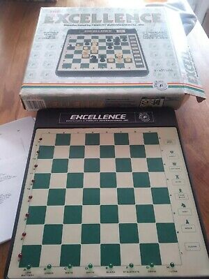 The Excellence Chess Computer 6080 By Fidelity. Fully Working, Pieces Complete. • 80.99£