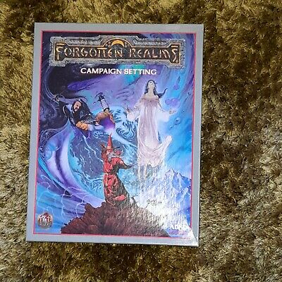 AD&D Forgotten Realms Campaign Setting Box Set, 2nd Edition, #1085. • 80£