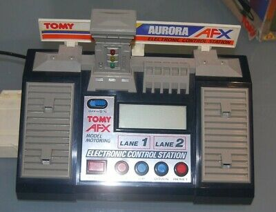 Aurora AFX Tomy,  Control Station, HO Slot Car, Lap Counter -Timer 1/1000 Second • 5.30£