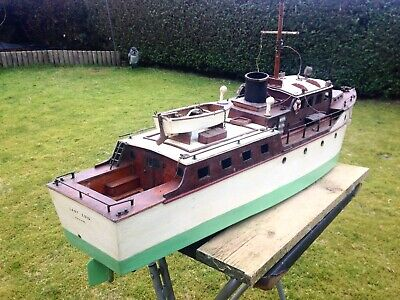 Bassett Lowke Steam Launch Margaret Dates To 1920's • 685£