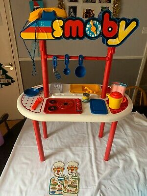 Vintage Smoby Childrens Kitchen With Extras Very Rare 80s • 6.99£
