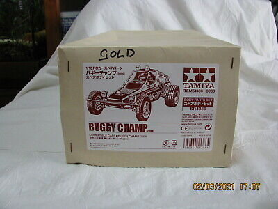 Tamiya Buggy Champ Gold Body Factory Painted **NEW** • 55.81£