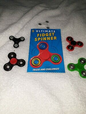Fidget Spinner Book Brand New & Spinners • 3£