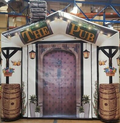 Inflatable Pub Brand New £500 Off The Normal Price 9ftx9ft • 489£