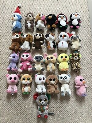 "HUGE BEANIE BOO 6"" RETIRED RARE BUNDLE JOBLOT TY 2011/2012 Mainly • 25.10£"