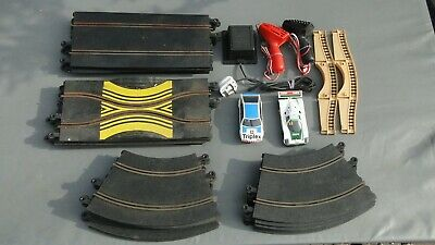Scalextric Track Job Lot With 2 Cars, Used • 10£