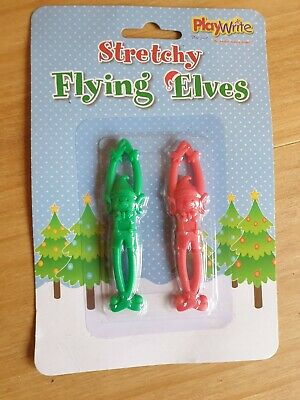 Stretchy Flying Elves • 1£