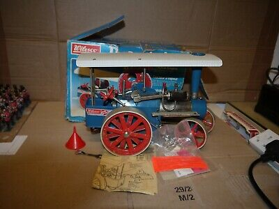 Wilesco Steam Traction Engine D-405 Not Mamod Boxed • 185£