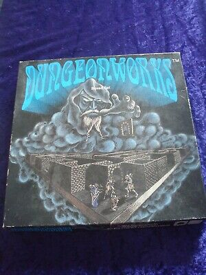 Dungeonworks Boxed Set.role Playing Magnetic Floor Map Plans 1991.d&d 25mm Rare. • 49.99£