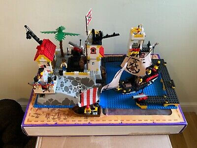 LEGO 6277 IMPERIAL TRADING POST FROM 1992, RARE With Box And Instructions  • 10£